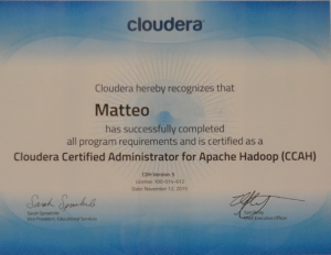 Cloudera Certification